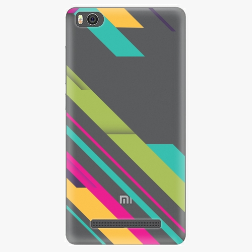 Plastový kryt iSaprio - Color Stripes 03 - Xiaomi Mi4C