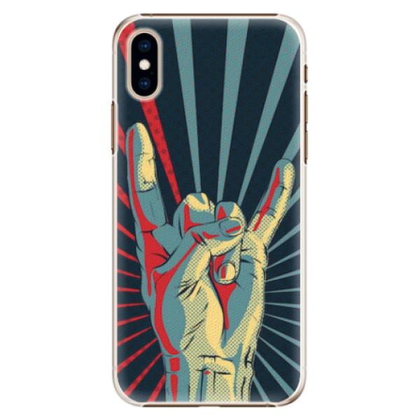 Plastové pouzdro iSaprio - Rock - iPhone XS