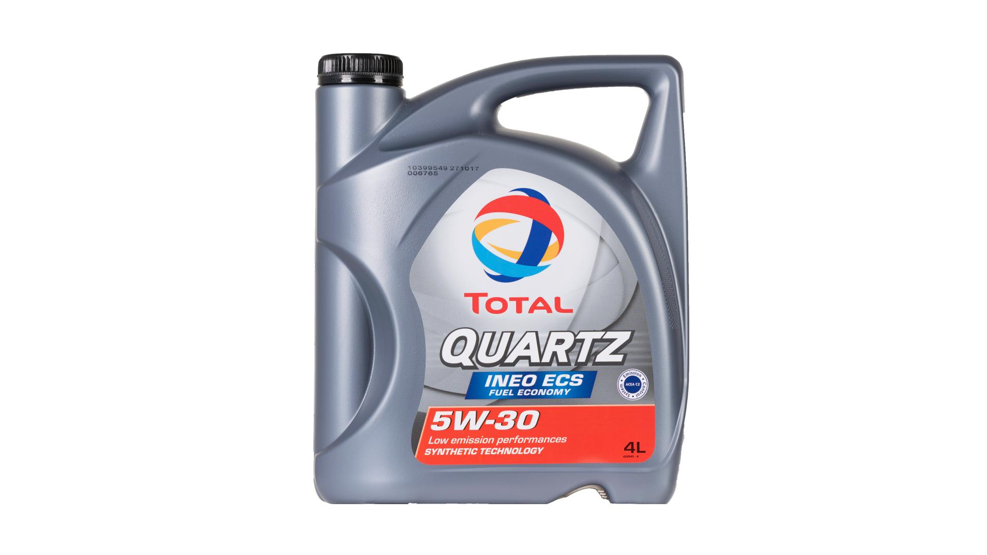 Total 5w-30 Quartz Ineo Ecs 4L (151510)
