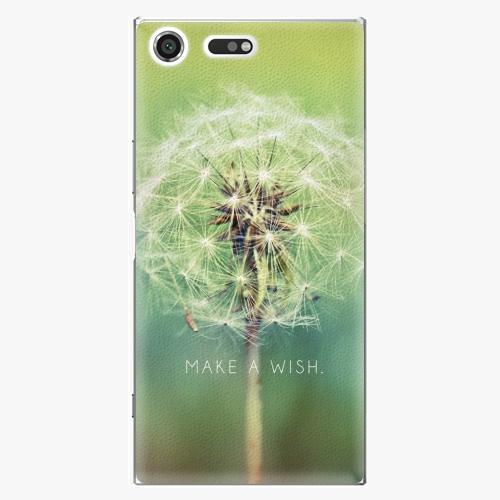 Plastový kryt iSaprio - Wish - Sony Xperia XZ Premium