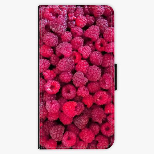 Flipové pouzdro iSaprio - Raspberry - Samsung Galaxy J5 2017