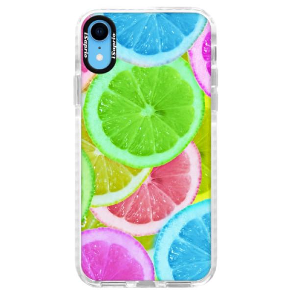 Silikonové pouzdro Bumper iSaprio - Lemon 02 - iPhone XR