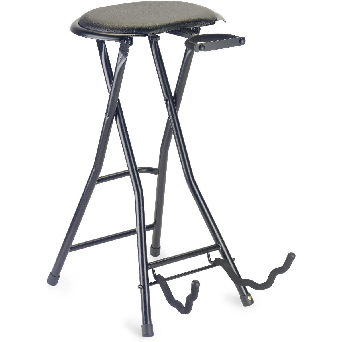 Stagg GIST-350, stolička skládací s kytarovým stojanem
