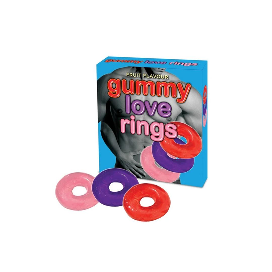 Jedlý kroužek Gummy Love Rings