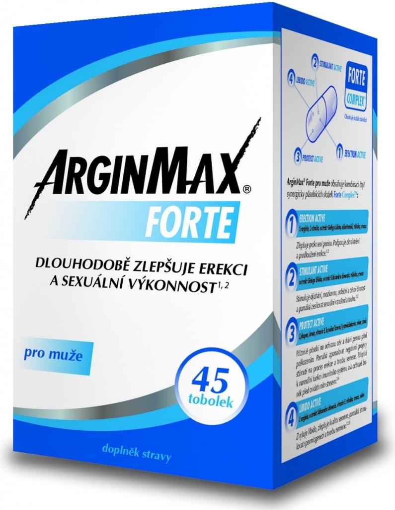 Simply you ArginMax Forte pro muže tobolek 45