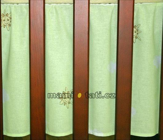 Krásný volánek pod matraci - Městečko zelené - 120x60