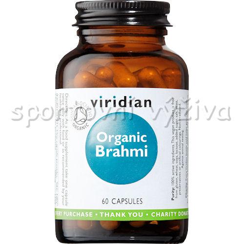 Viridian Brahmi Organic - BIO 60 kapslí