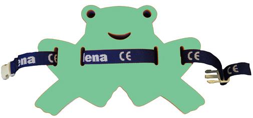MATUŠKA-DENA Pás plavecký žabka 37-24cm zeleno-modrá