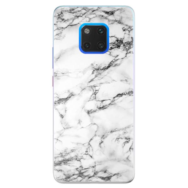 Silikonové pouzdro iSaprio - White Marble 01 - Huawei Mate 20 Pro