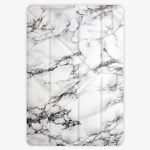 Pouzdro iSaprio Smart Cover - White Marble - iPad 9.7″ (2017-2018)