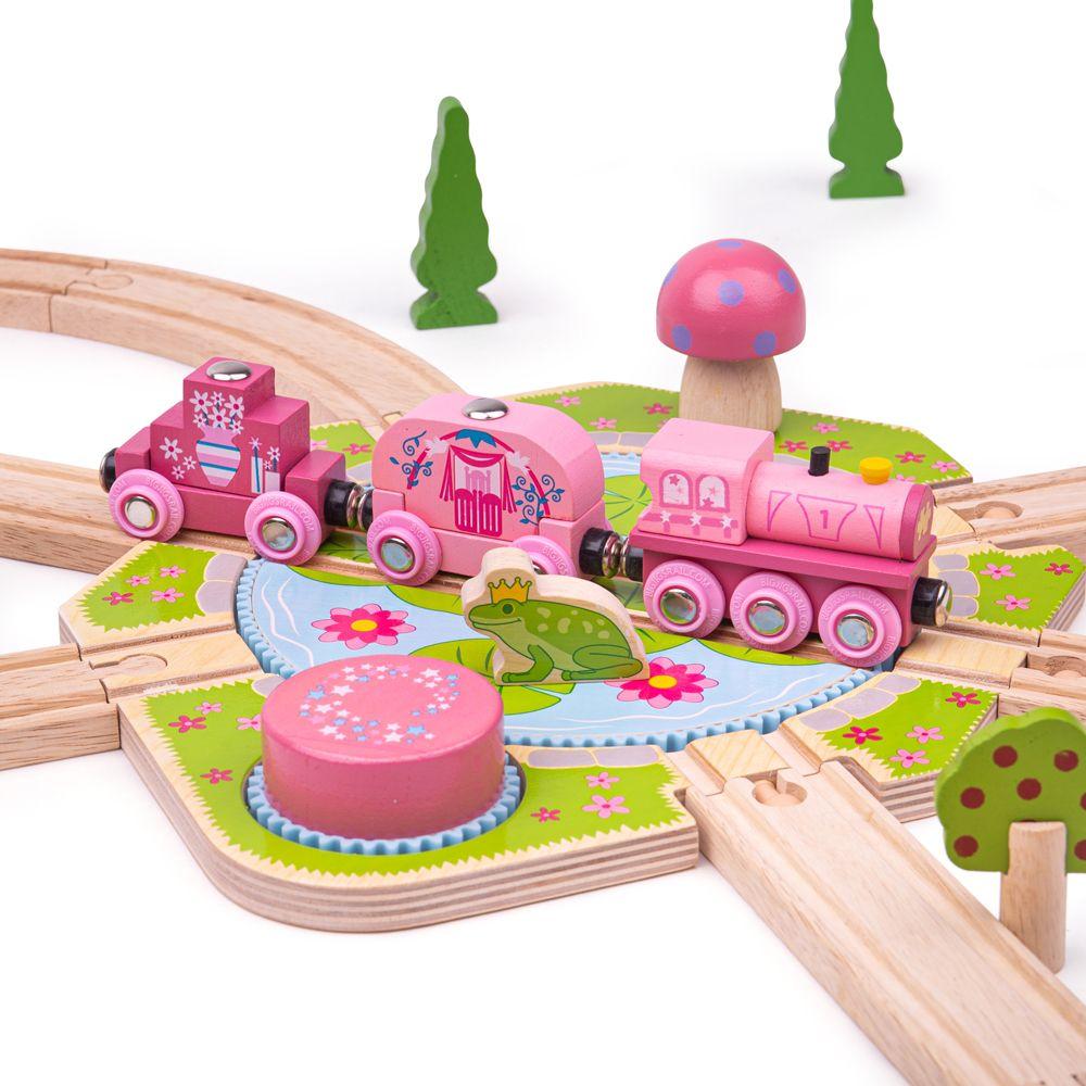 Bigjigs Rail Velká točna Lilypad