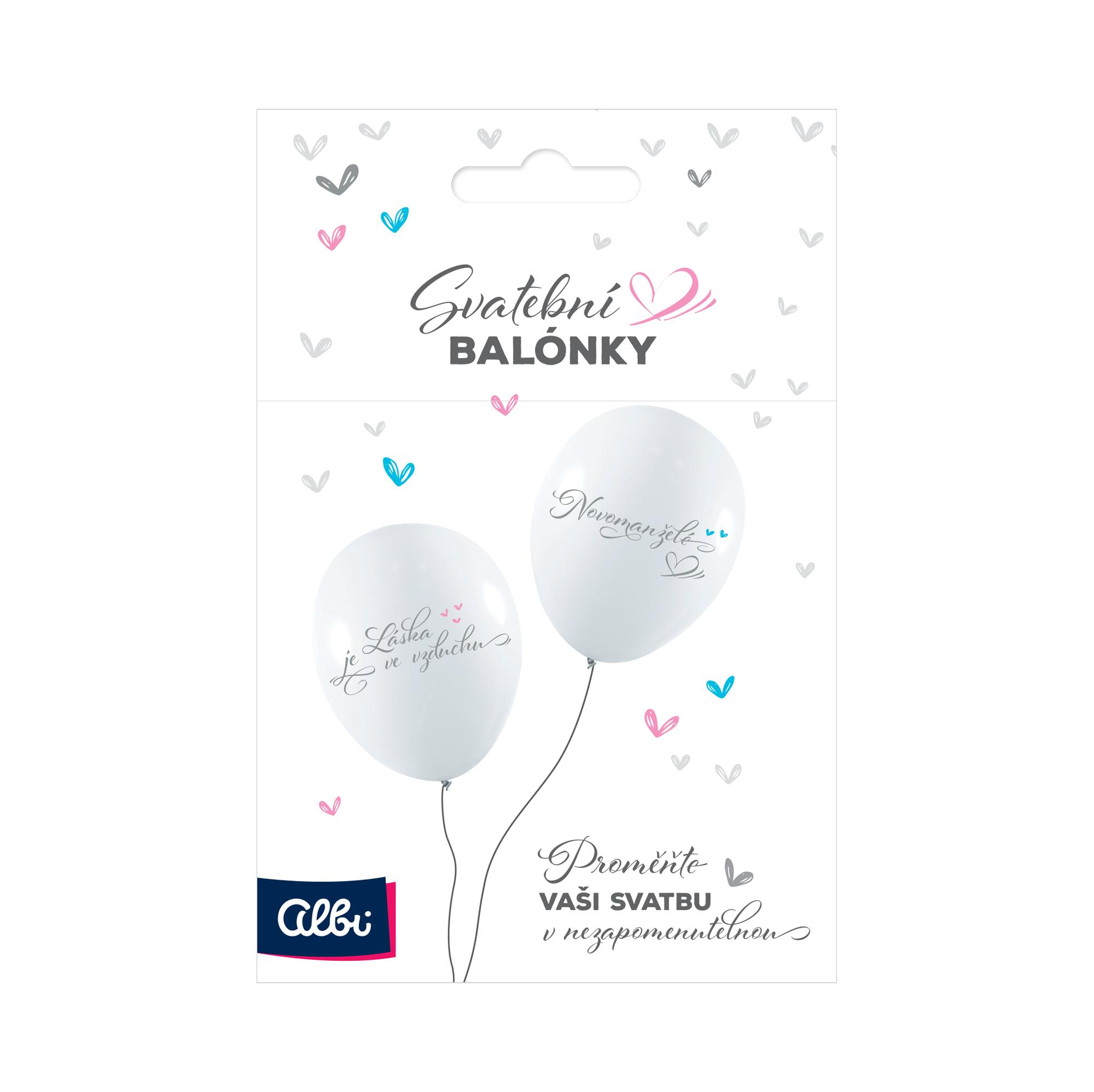 Svatební balónky
