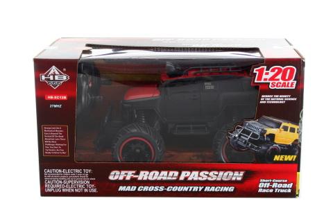 Auto na ovládání RC baterie