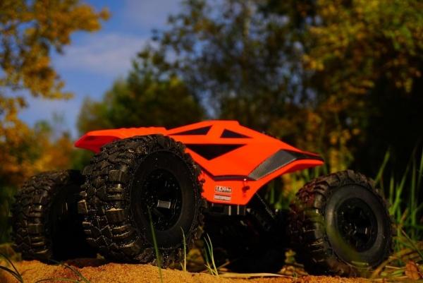 DF-Crawler 4WD, RTR - Oranžový