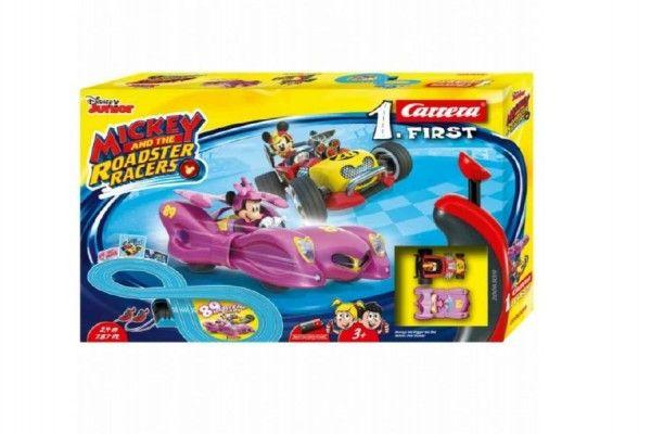autodraha-carrera-1-first-mickey-racers-2-4m-plast-na-baterie-v-krabici-50x30x8cm
