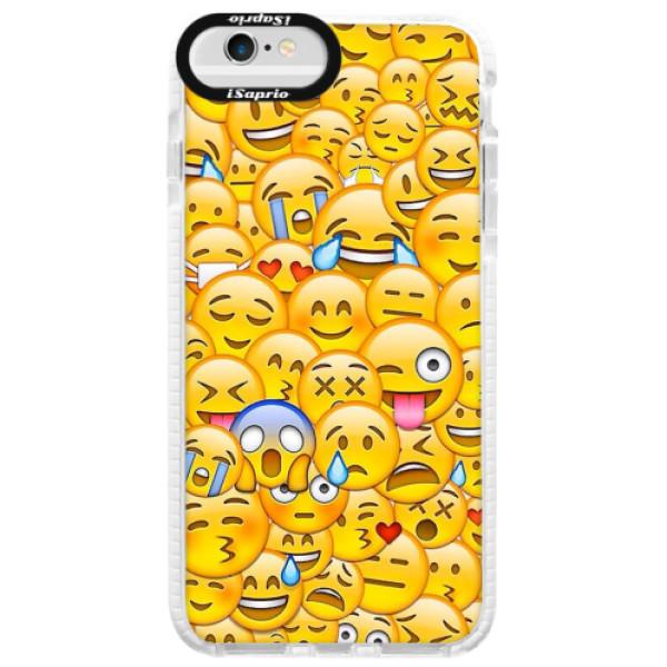 Silikonové pouzdro Bumper iSaprio - Emoji - iPhone 6/6S