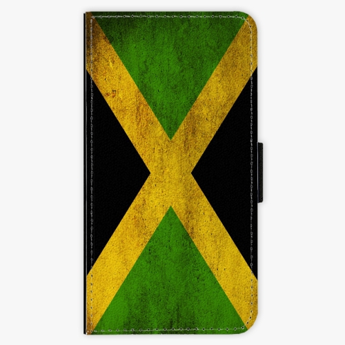 Flipové pouzdro iSaprio - Flag of Jamaica - Samsung Galaxy J7 2016