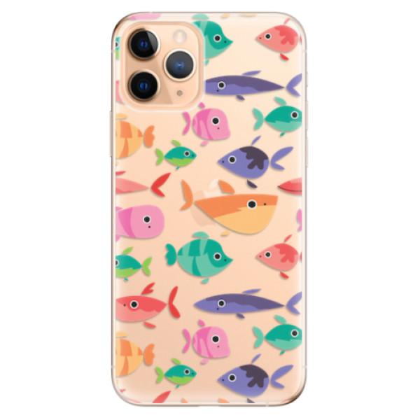 Odolné silikonové pouzdro iSaprio - Fish pattern 01 - iPhone 11 Pro