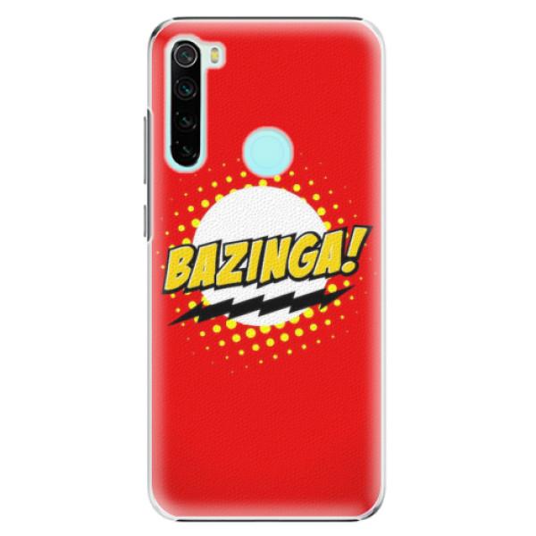 Plastové pouzdro iSaprio - Bazinga 01 - Xiaomi Redmi Note 8
