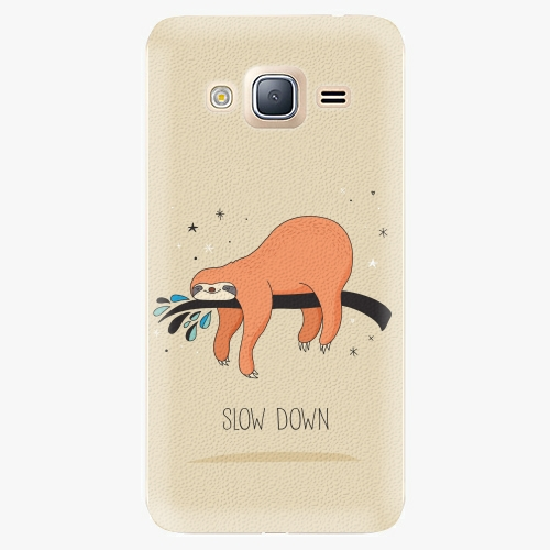 Plastový kryt iSaprio - Slow Down - Samsung Galaxy J3