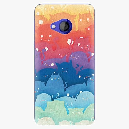 Plastový kryt iSaprio - Cats World - HTC U Play