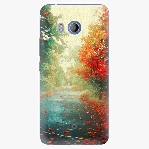 Plastový kryt iSaprio - Autumn 03 - HTC U11