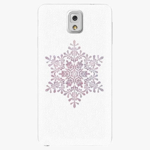 Plastový kryt iSaprio - Snow Flake - Samsung Galaxy Note 3