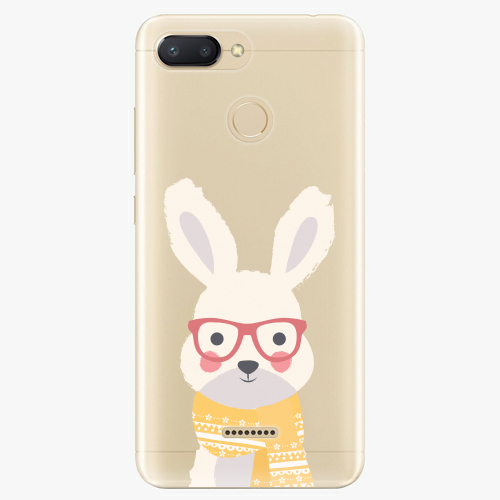 Plastový kryt iSaprio - Smart Rabbit - Xiaomi Redmi 6