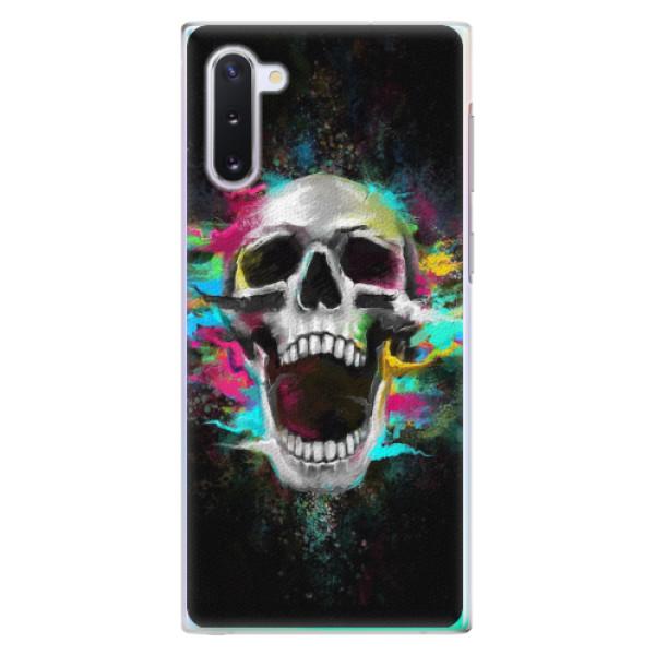 Plastové pouzdro iSaprio - Skull in Colors - Samsung Galaxy Note 10