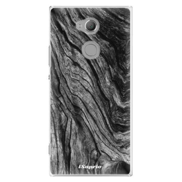 Plastové pouzdro iSaprio - Burned Wood - Sony Xperia XA2 Ultra