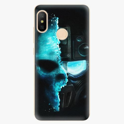 Silikonové pouzdro iSaprio - Roboskull - Xiaomi Mi A2 Lite