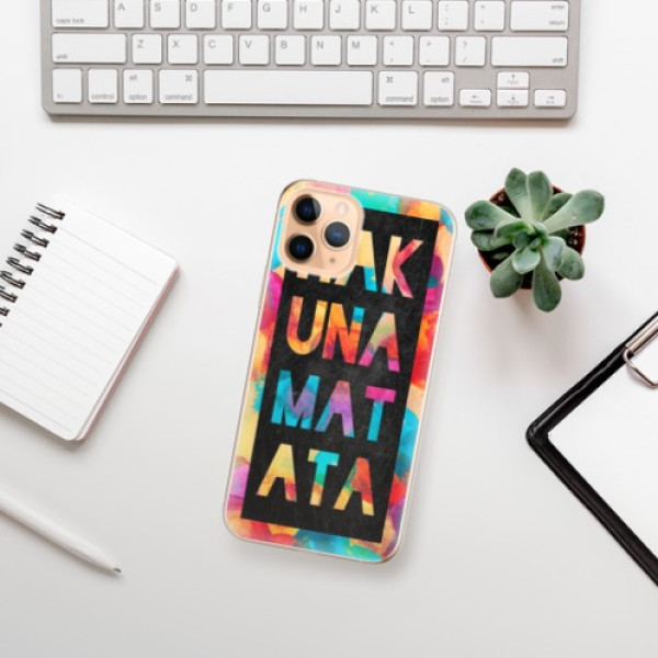 Odolné silikonové pouzdro iSaprio - Hakuna Matata 01 - iPhone 11 Pro