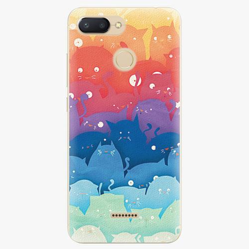 Plastový kryt iSaprio - Cats World - Xiaomi Redmi 6