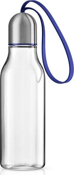 Sportovní láhev 0,7l, modré poutko, 503000