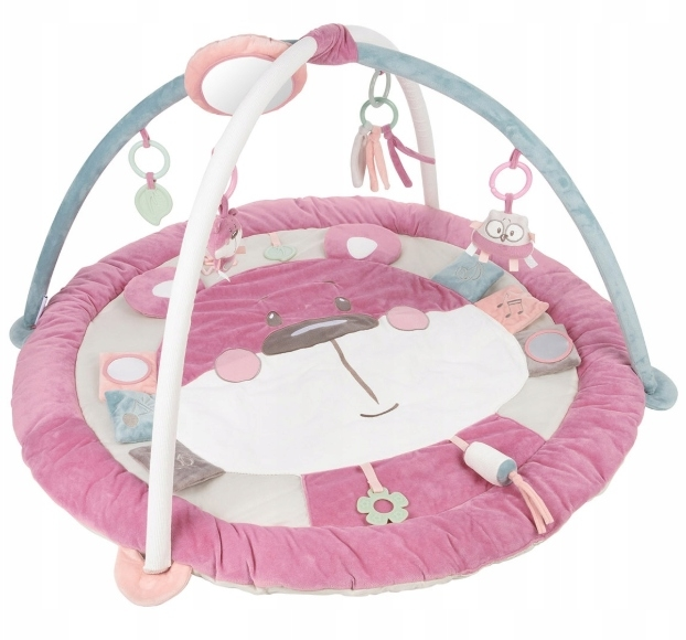 Canpol Babies, Edukační hrací podložka Pastel friends - růžová