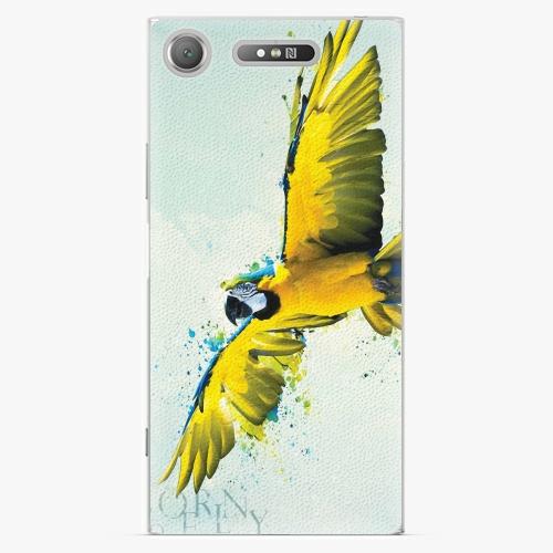 Plastový kryt iSaprio - Born to Fly - Sony Xperia XZ1