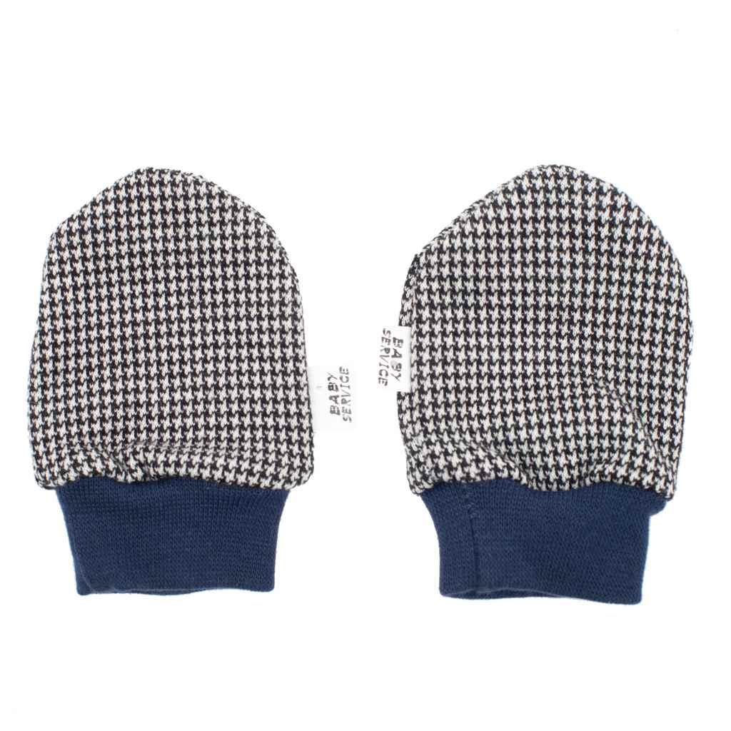 Zimní kojenecké rukavičky Baby Service Retro