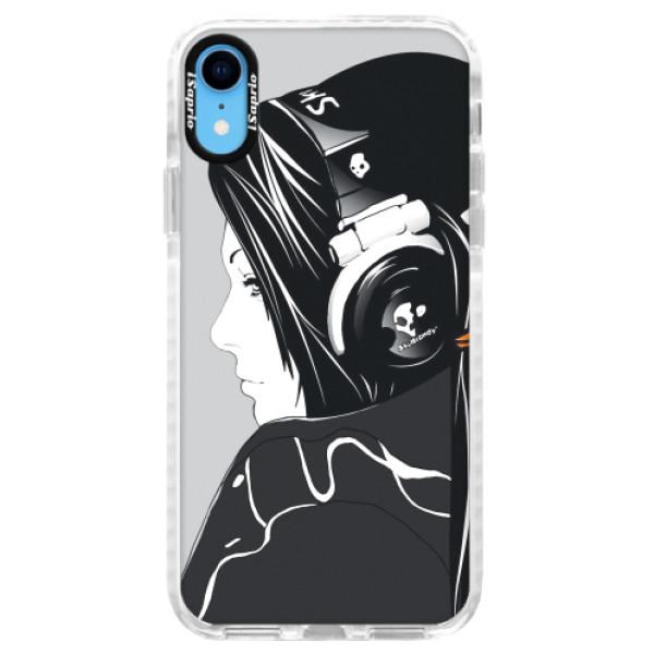 Silikonové pouzdro Bumper iSaprio - Headphones - iPhone XR