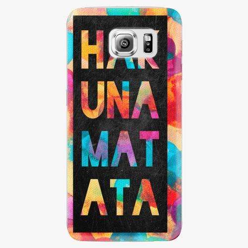 Plastový kryt iSaprio - Hakuna Matata 01 - Samsung Galaxy S6 Edge Plus