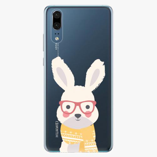 Plastový kryt iSaprio - Smart Rabbit - Huawei P20
