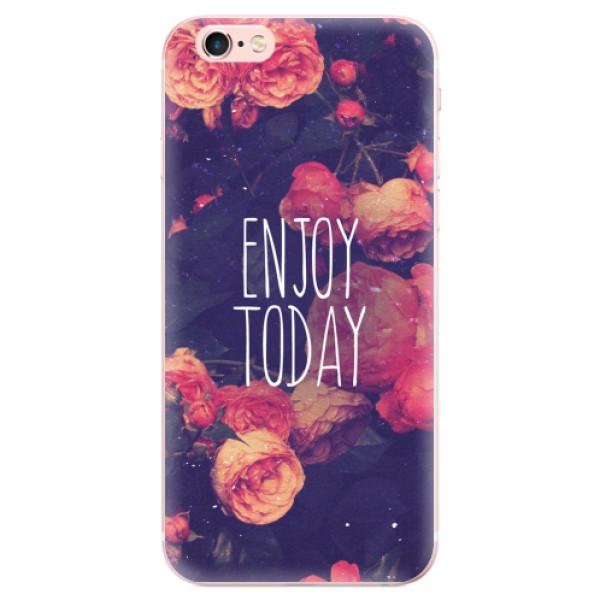Odolné silikonové pouzdro iSaprio - Enjoy Today - iPhone 6 Plus/6S Plus