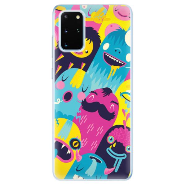 Odolné silikonové pouzdro iSaprio - Monsters - Samsung Galaxy S20+