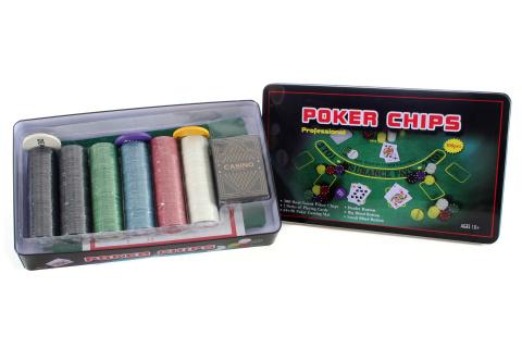 Pokerová sada velká