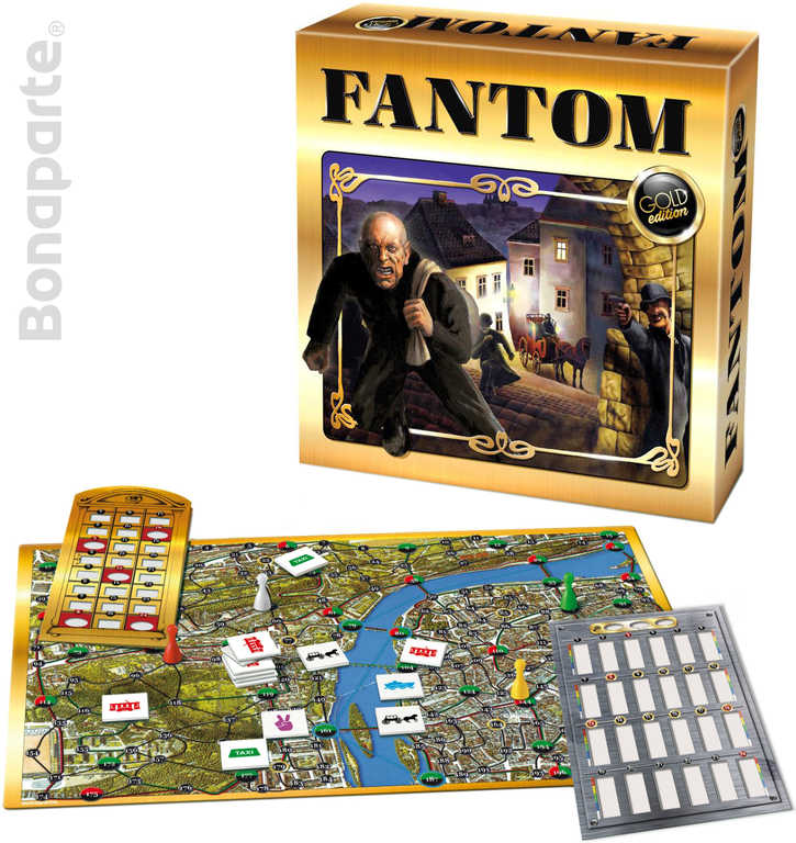 BONAPARTE Hra Fantom Gold edition *SPOLEČENSKÉ HRY*