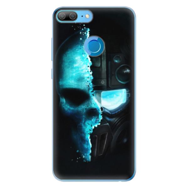 Odolné silikonové pouzdro iSaprio - Roboskull - Huawei Honor 9 Lite