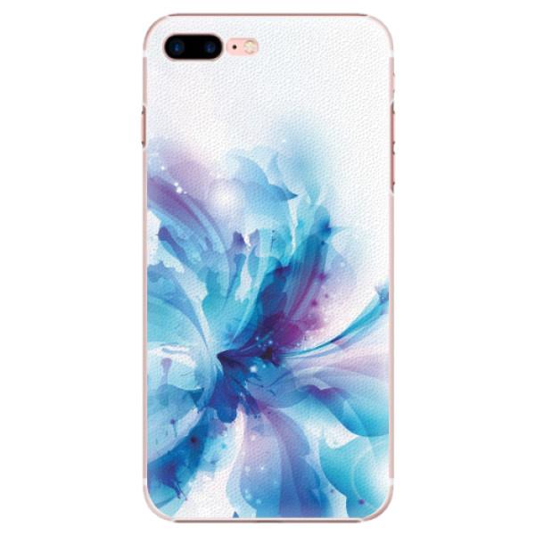 Plastové pouzdro iSaprio - Abstract Flower - iPhone 7 Plus