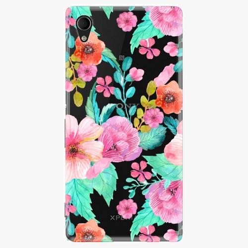 Plastový kryt iSaprio - Flower Pattern 01 - Sony Xperia M4