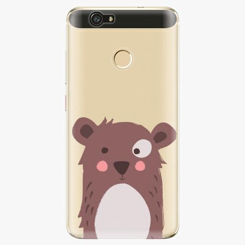 Plastový kryt iSaprio - Brown Bear - Huawei Nova