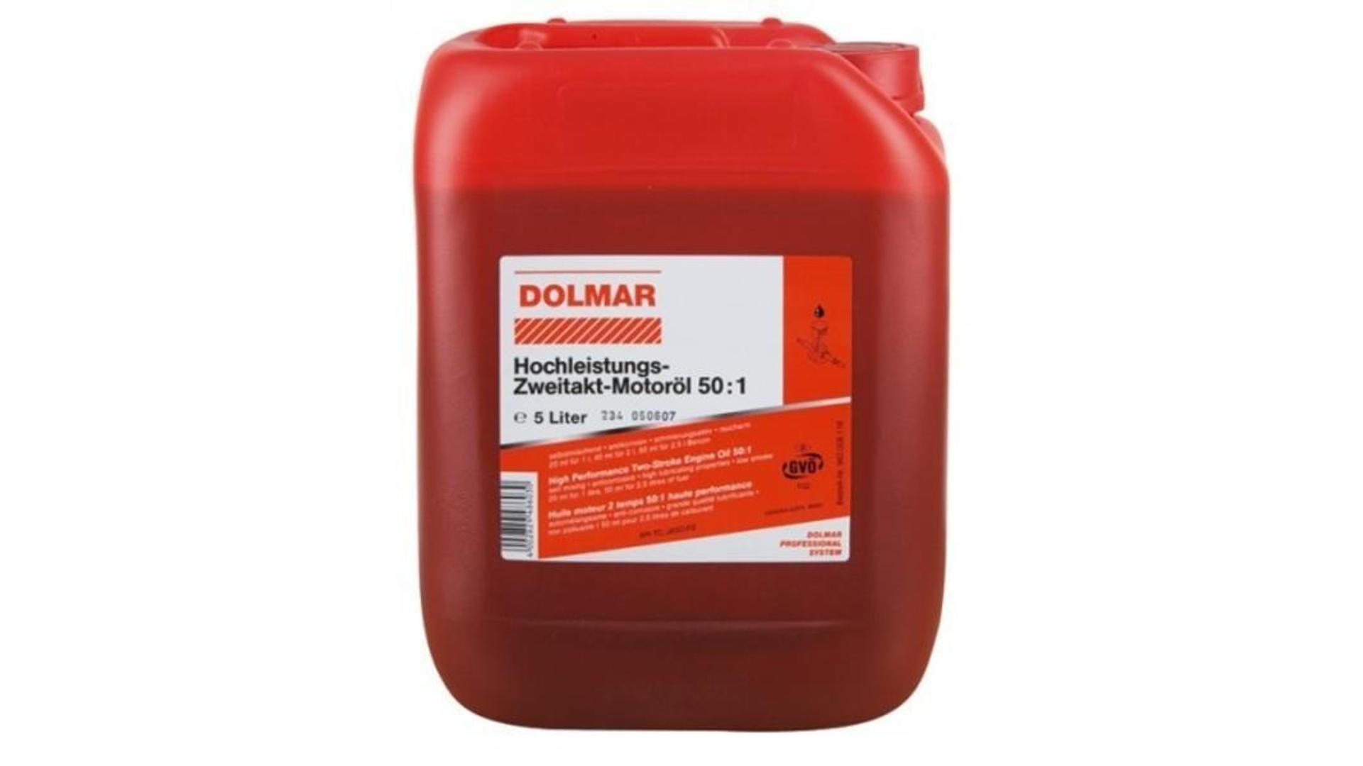DOLMAR Olej pro dvoutaktní motory 1:50 5L