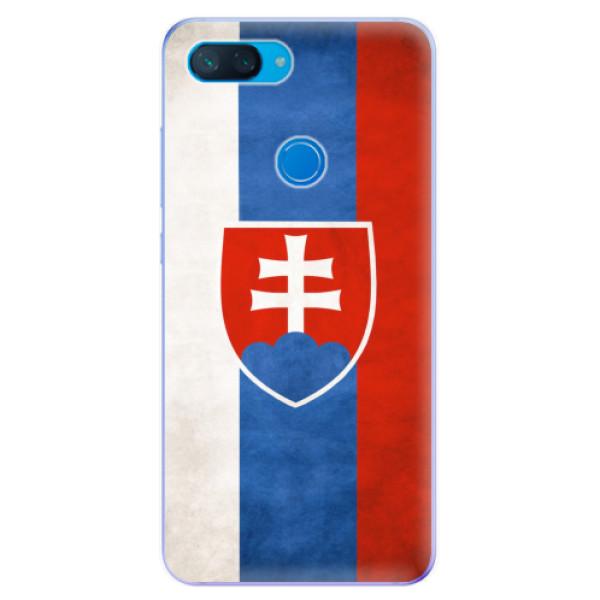 Odolné silikonové pouzdro iSaprio - Slovakia Flag - Xiaomi Mi 8 Lite